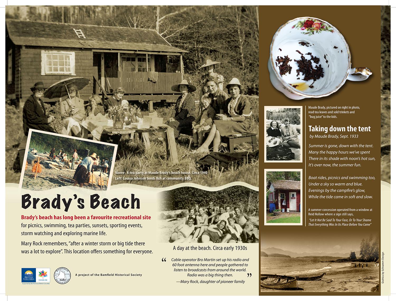 Bradys beach sign final