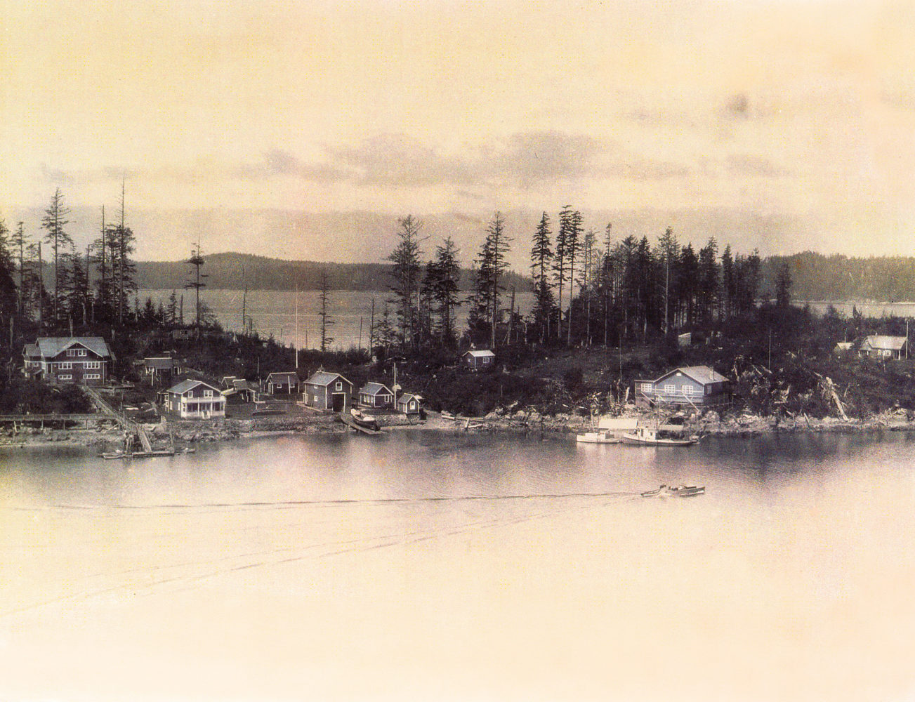 #13 - Panorama, West Bamfield