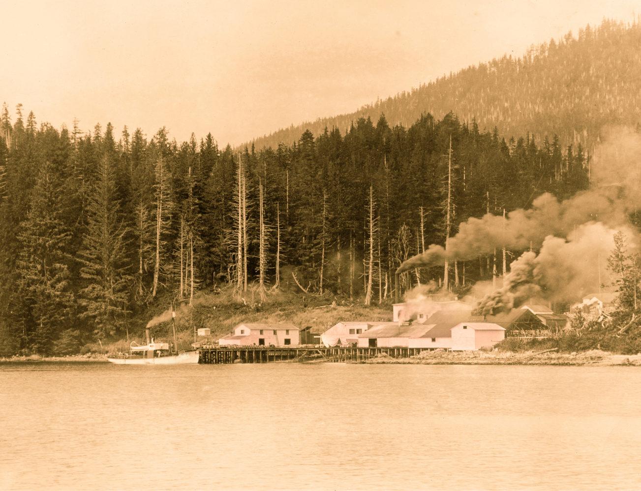 #14 - Sechart Whaling Station, circa 1905