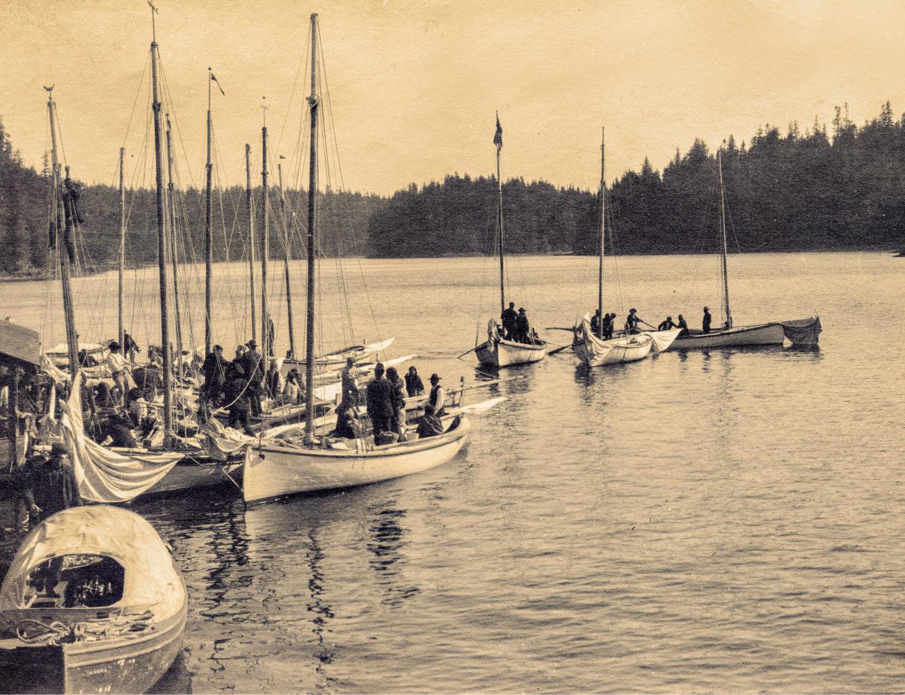 #16 - Sloop races, 1908
