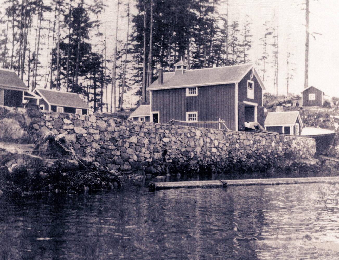 #18 - Bamfield Lifeboat Station, circa 1910