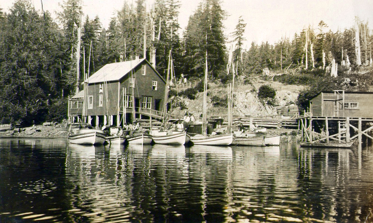 #21 - McKee's Store near McKay property, west Bamfield
