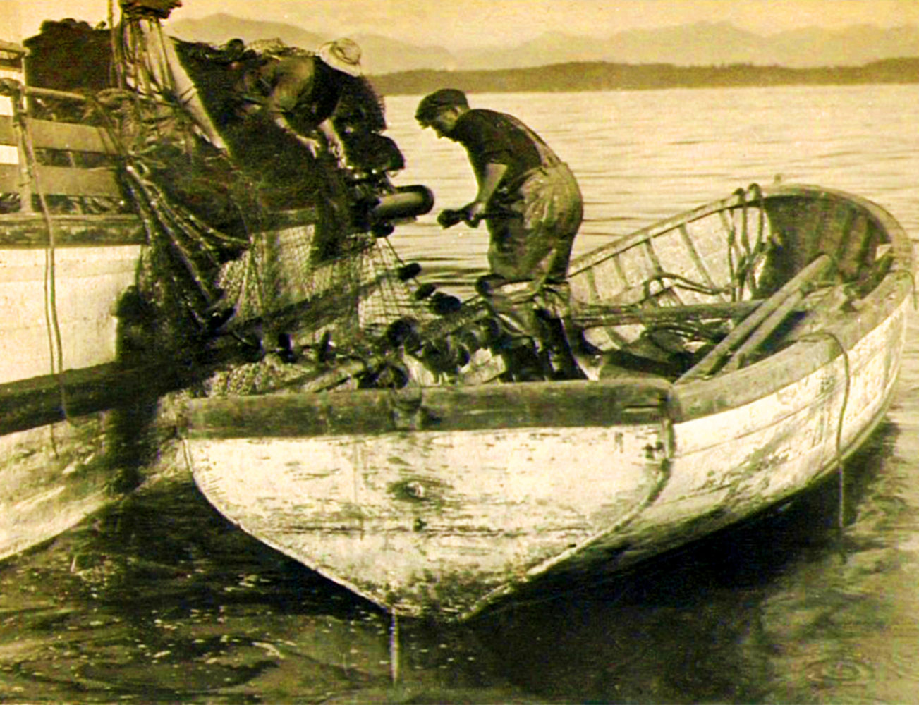 #5 - Fish boat tender